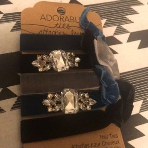 Set of 5 hair ties!! Unique and never worn